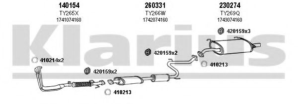 900108E Exhaust System