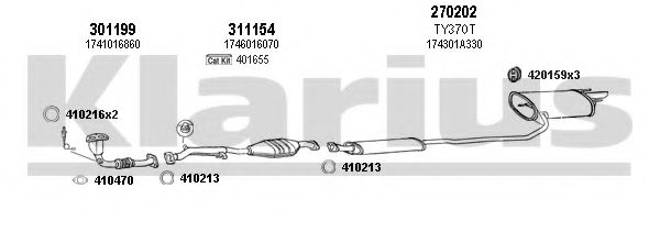 900282E Exhaust System