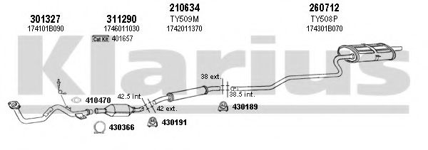 900334E Exhaust System