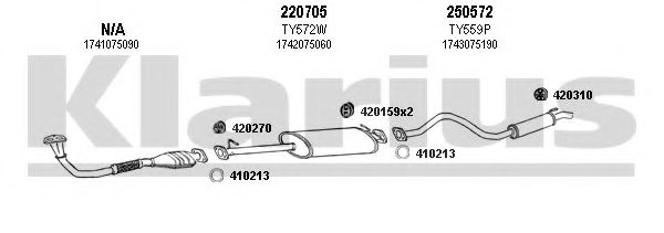 900372E Exhaust System