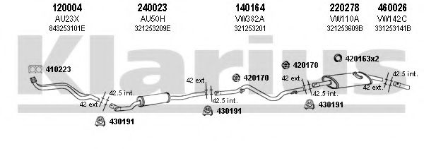930365E Exhaust System