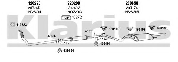 930628E Exhaust System