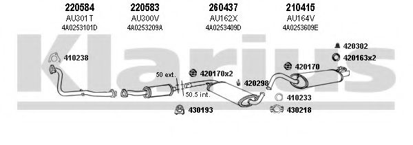 940382E Exhaust System