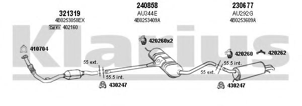 940481E Exhaust System