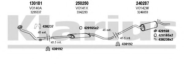 960055E Exhaust System