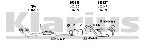 960096E Exhaust System