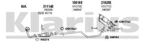 960140E Exhaust System