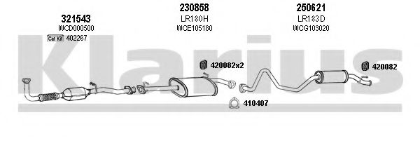 090184E Exhaust System