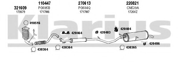 180621E Exhaust System