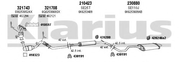 790244E Exhaust System