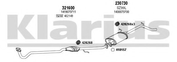 820092E Exhaust System