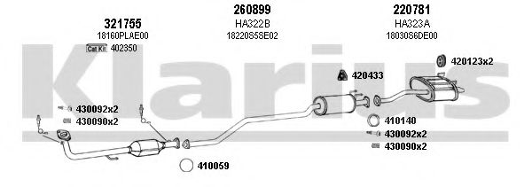 420215E Exhaust System