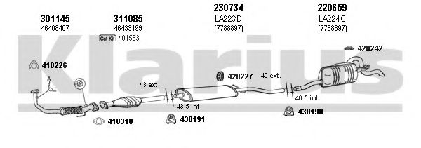 510221E Exhaust System