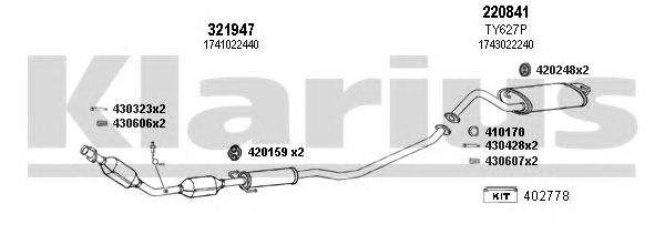 900436E Exhaust System