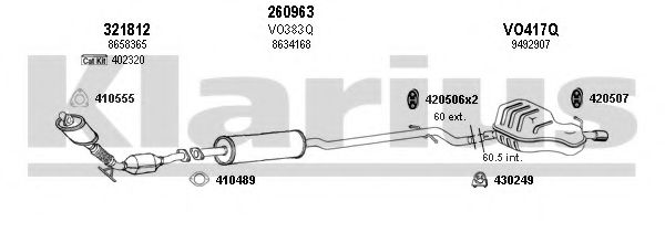 960335E Exhaust System