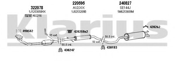 790333E Exhaust System
