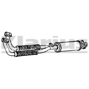 AR107V Exhaust Pipe