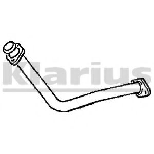 CL225C Exhaust Pipe