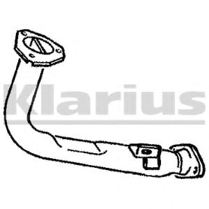 CN154P Exhaust Pipe