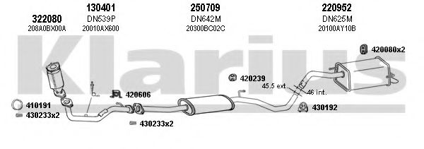 270528E Exhaust System