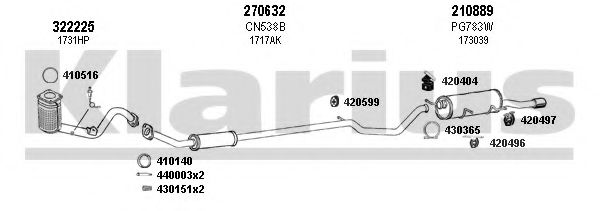 631053E Exhaust System