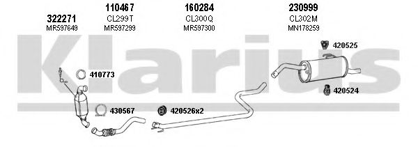 210229E Exhaust System