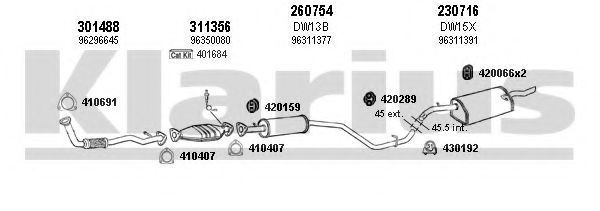 310055E Exhaust System