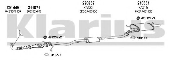 500031E Exhaust System