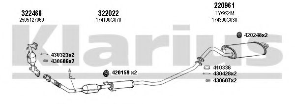 900442E Exhaust System