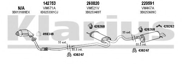 931275E Exhaust System