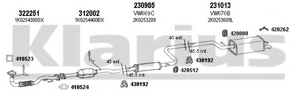 931329E Exhaust System
