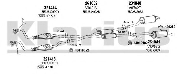 931393E Exhaust System