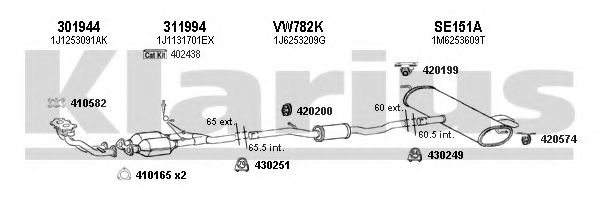 790386E Exhaust System