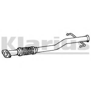 HY142H Exhaust Pipe