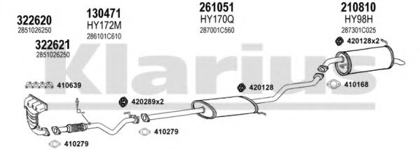 450152E Exhaust System
