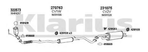200004E Exhaust System