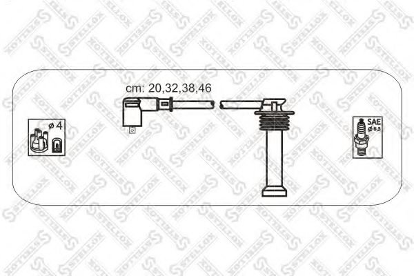 10-38143-SX Ignition Cable Kit