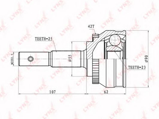 CO-5738A Joint Kit, drive shaft