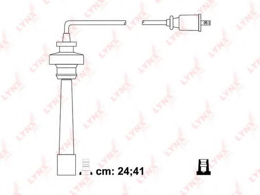 SPC5518 Ignition Cable Kit