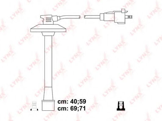 SPC7543 Ignition Cable Kit