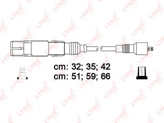 SPC8012 Ignition Cable Kit
