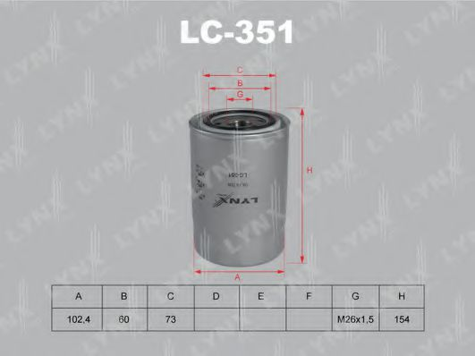 LC-351 Oil Filter
