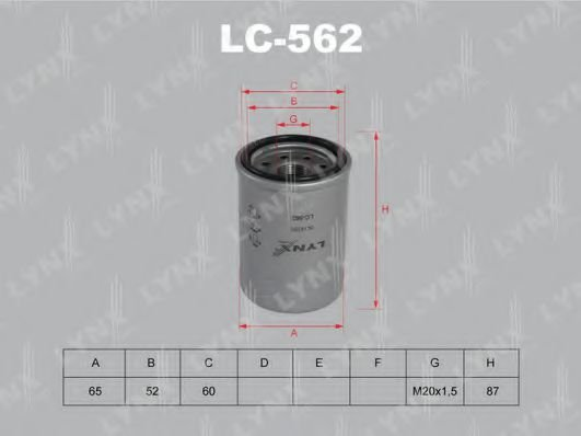 LC-562 Oil Filter