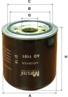 AD 1101 Air Dryer Cartridge, compressed-air system