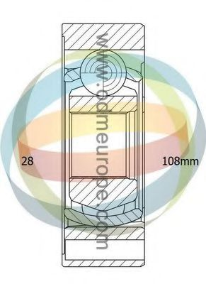 14-146001 Joint, propshaft