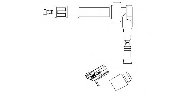 176S88 Ignition System Ignition Cable