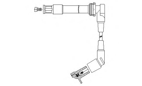 1A11/63 Ignition System Ignition Cable
