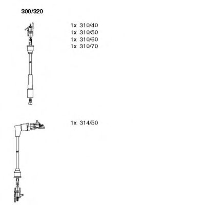 300/320 Final Drive Bellow Set, drive shaft
