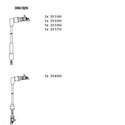 300/329 Final Drive Bellow Set, drive shaft