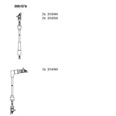 300/578 Final Drive Bellow Set, drive shaft